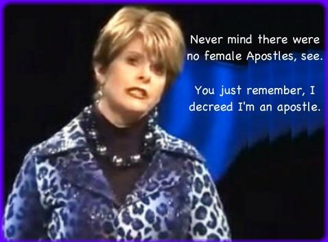 NAR APOSTLETTE CINDY JACOBS : Apprising Ministries