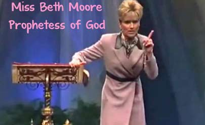 The book of beth moorethus saith the lord cessationism cheats apprising ministries now brings you exclusive video of sbc quasi elder beth moore with these following words allegedly directly from the lord himself voltagebd Choice Image